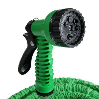 24.5FT Expandable Garden Water Hose Pipe with 7 in 1 Spray Gun
