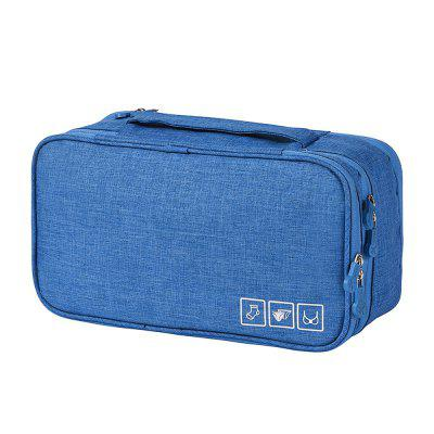Portable Travel Organizer Luggage Storage Case Bra Underwear Pouch