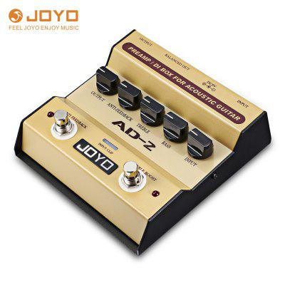 JOYO AD - 2 Preamp DI Box Effect Pedal for Acoustic Guitar