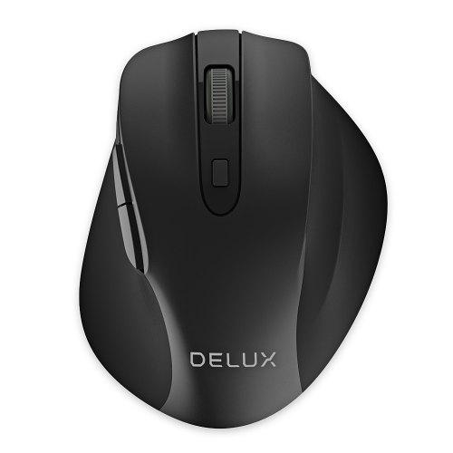PC Windows etc. 5 adjustable DPI suitable for laptop Mac plug and play Wireless mouse dual energy saving USB wireless optical game and office ergonomic mouse 7 mute buttons