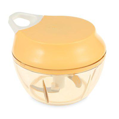 Pull String Chopper Manual Food Processor for Fruits Vegetables