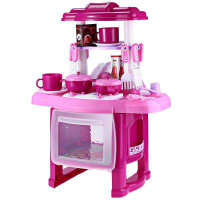 RX1800 - 1 Kids Kitchen Cookware Toy with Light Sound Effect