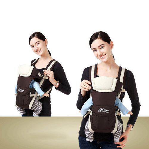 QUALITY Multipurpose Baby Carrier Backpack Adjustable Buckle Mesh Wrap Holder