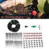 25m 30 Drip Nozzles DIY for Garden Watering Irrigation Dripper Hose Kits - MULTI