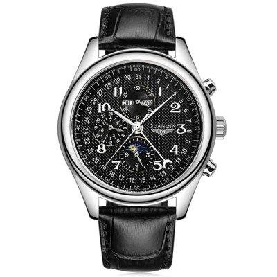GUANQIN GQ20022 Αρσενικό Auto Mechanical Watch