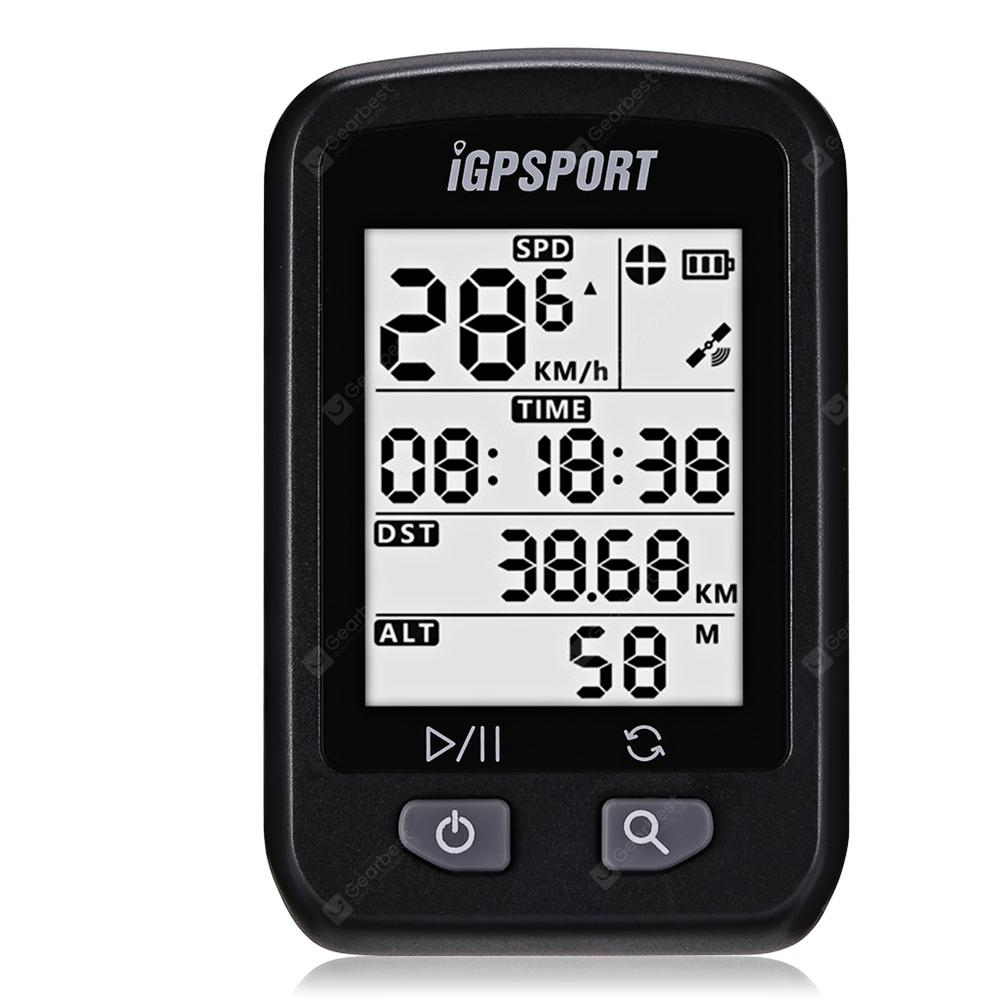 iGPSPORT iGS20E Wireless GPS Cycling Computer Odometer - Black