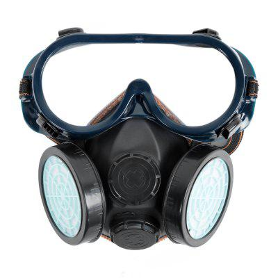 Chemical Gas Anti-dust Protective TPR Mask with Goggles