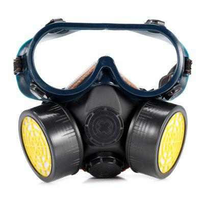 Anti-dust Chemical Gas Protective Mask with Goggles