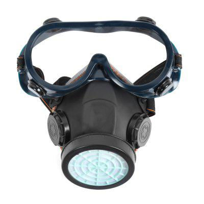 Chemical Gas Anti-dust Protective Mask with Goggles