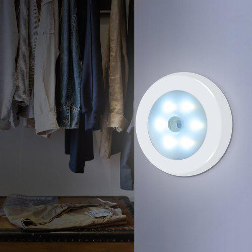 Utorch S08 6 LEDs Night Light Human Body Induction Lamp
