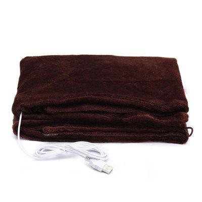USB Soft Heated Shawl Winter Electric Warming Neck Shoulder Heating Blanket Pad