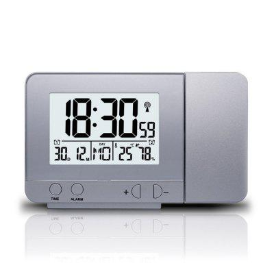 LED Projection Weather Digital Backlight Alarm Clock