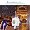 Gblife SA01 Mini Power Monitor WiFi Socket Plug Outlet Smart Remote Control - WHITE