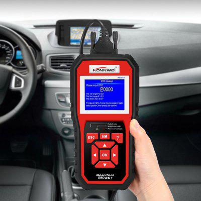 Konnwei KW850 CAN OBD2 / EOBD Scanner pour Véhicules