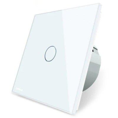 LIVOLO C7 Touch Sensor Smart Light Switch Wall Backlight Indicator Glass Panel 250V
