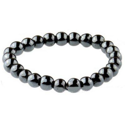 New Biomagnetic Multi-shaped Black Stone Magnetic Bracelet, Magnetic Health Weight Loss Hand for Men and Women