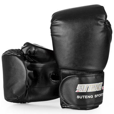SUTENG 1 Pair PU Boxing Fighting Sandbag Gloves