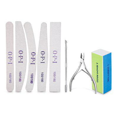 Professional Manicure Pedicure Tools Kit for Nail Salon