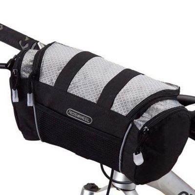 Roswheel Multi-use 5L Bicycle Handlebar Bag Sling Pack Bike Front Tube Pocket for Camping Hiking Cycling