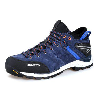 HUMTTO Men Outdoor Lace-Up Tactical Trekking Hiking Shoes EU Szie 39-45