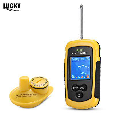 GLÜCK FFW1108 - 1 100 Mt Angeln Sonar Wireless Fish Finder Alarm Sensor Transducer