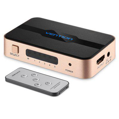 Vention Portable 4K x 2K HDMI Switch 5-in-1 Splitter