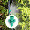 50pcs 180 Degree Misting Refraction Spray Nozzle Garden Irrigation Tool - SEA TURTLE GREEN