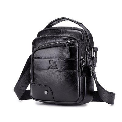 LAOSHIZILUOSEN 91310 Men's Fashion Small Crossbody Bag