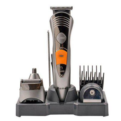 Kemei KM - 580A Rechargeable Hair Clipper Shaver for Men