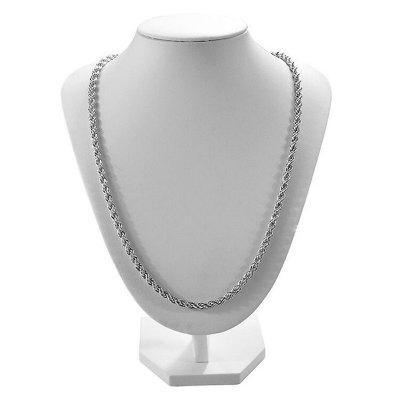 Men Stylish 925 Sterling Silver Necklace