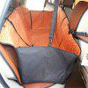 170 x 145cm Collapsible Waterproof Oxford Fabric Pet Protector Rear Back Seat Cover Cars Mat - ORANGE
