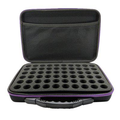 Essential Oil Storage Bag Carry Case for 60 Bottles