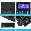 GBlife Lii - PD4 4 Slots Battery Charger for NiMH / AA / AAA / Battery - BLACK