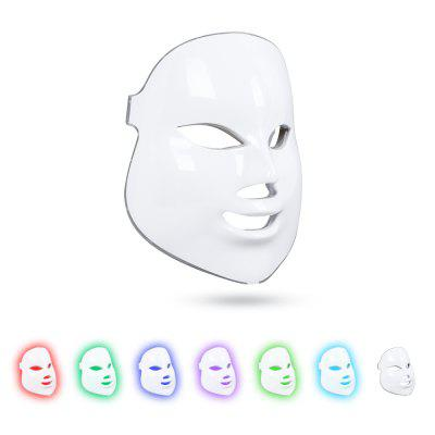 Beauty Photon 7 Colors LED Light Facial Mask Skin Care Rejuvenation Wrinkle Acne Removal Face Spa