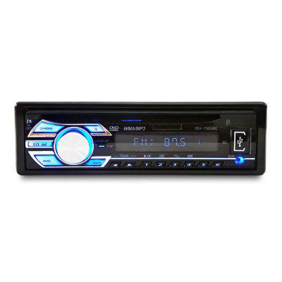 1563U Rádio Carro Stereo MP3 Player