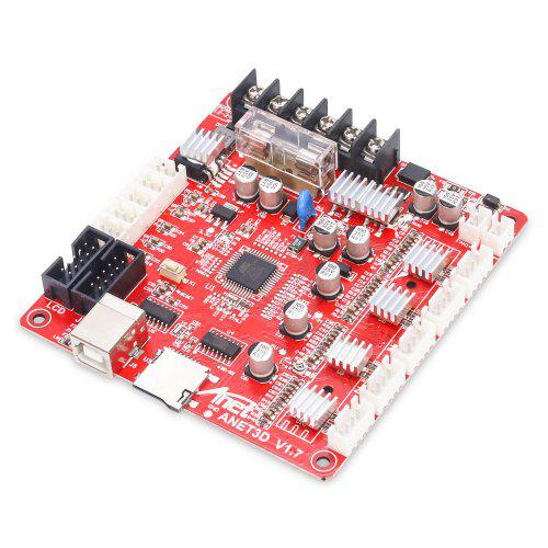 Anet A8 V1.0 Desktop 3D Printer Mainboard Motherboard for Reprap i3 Control 12V