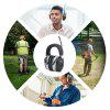 AM / FM Radio Earmuffs Hearing Protection Headphones Anti-noise Headset - GRAY