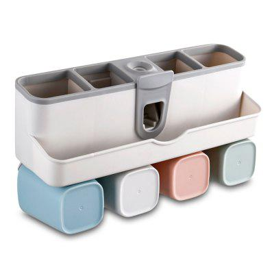 Wall-mounted Automatic Toothpaste Squeezer Set (Gearbest) Overland Park Sell stuff