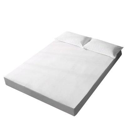 Knitted Fitted Sheet Mattress Cover Waterproof Bedspread Isolated Urine Baby