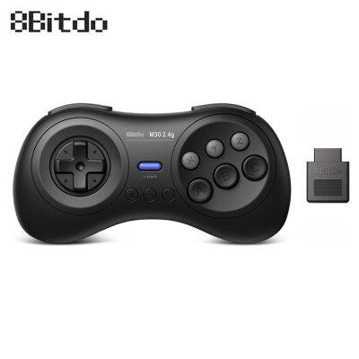 Manette sans fil 8Bitdo M30 2.4G pour MD Games commutez Windows