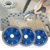 105 / 115 / 125mm Diamond Saw Blade for Porcelain Tile Ceramic Cutting - BLUE