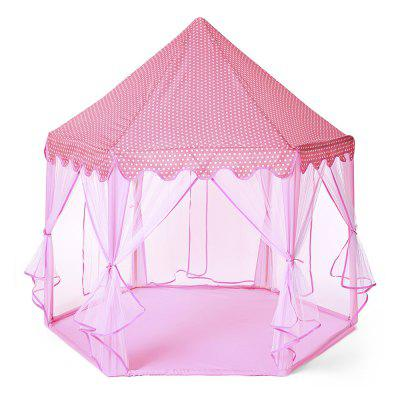 Large Princess Play Tent Castle Tulle Children Game House