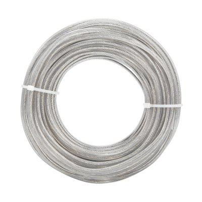 3.0mm 15m Grass Trimmer Wire Cord Line Strimmer Rope Garden Tools Parts