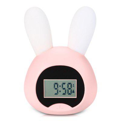 LX - 03 USB Charging Rabbit Alarm Clock Night Light Intelligent Induction LED