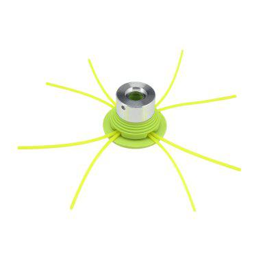 Grass Trimmer Head Nylon Line Cutter with 4 Mowing Rope for Garden Lawnmower Tools Parts