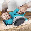 1000W Electric Handheld Planer Powerful Woodworking File Tool Set - BLUE