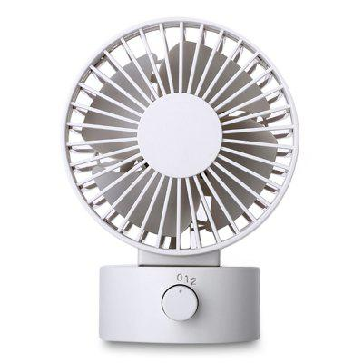 Double Blade USB Charging Desktop Fan