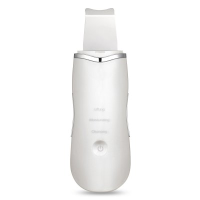 Ultrasonic Rechargeable Face Skin Scrubber Facial Cleaner