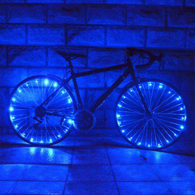 A01 Ultra Bright LED Bicycle Wheel Spoke Light String Bike Tire Accessories