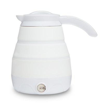Portable Silicone Foldable Electric Kettle for Travel Camping Mini Water Boiler